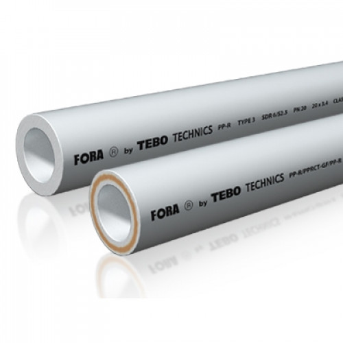 Труба SDR6 FORA (белый цвет)